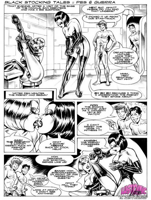 комиксы моя феминизация