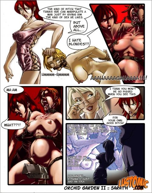 Сад орхидей комикс порно