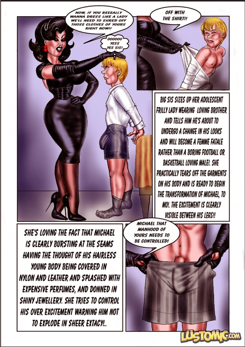 2 mistresses using there chasted slave 4