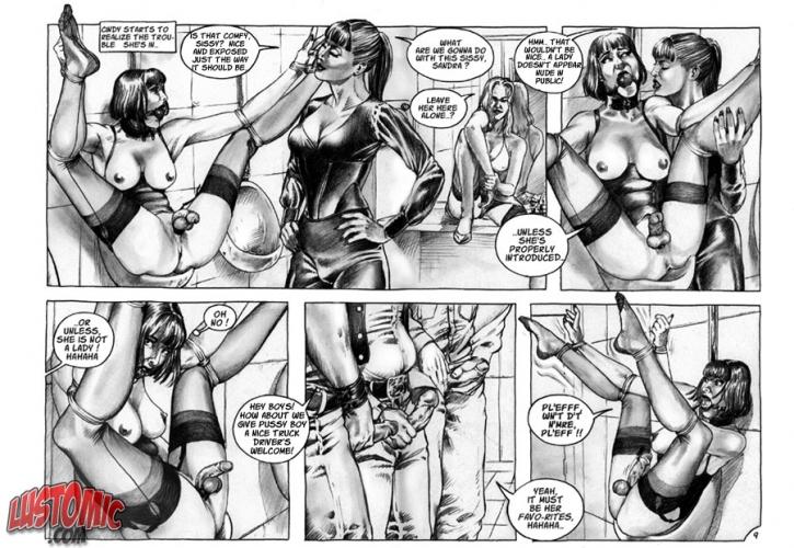 сисси порно комиксы