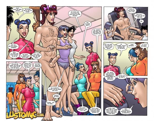 порно комиксы феминизация